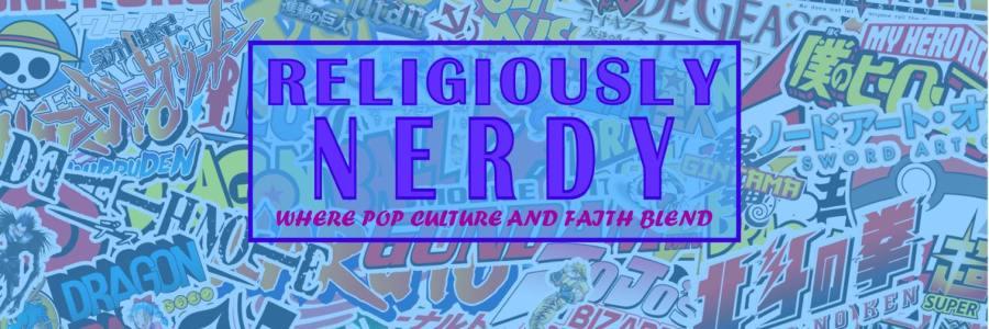 nerdy muslim anime logo